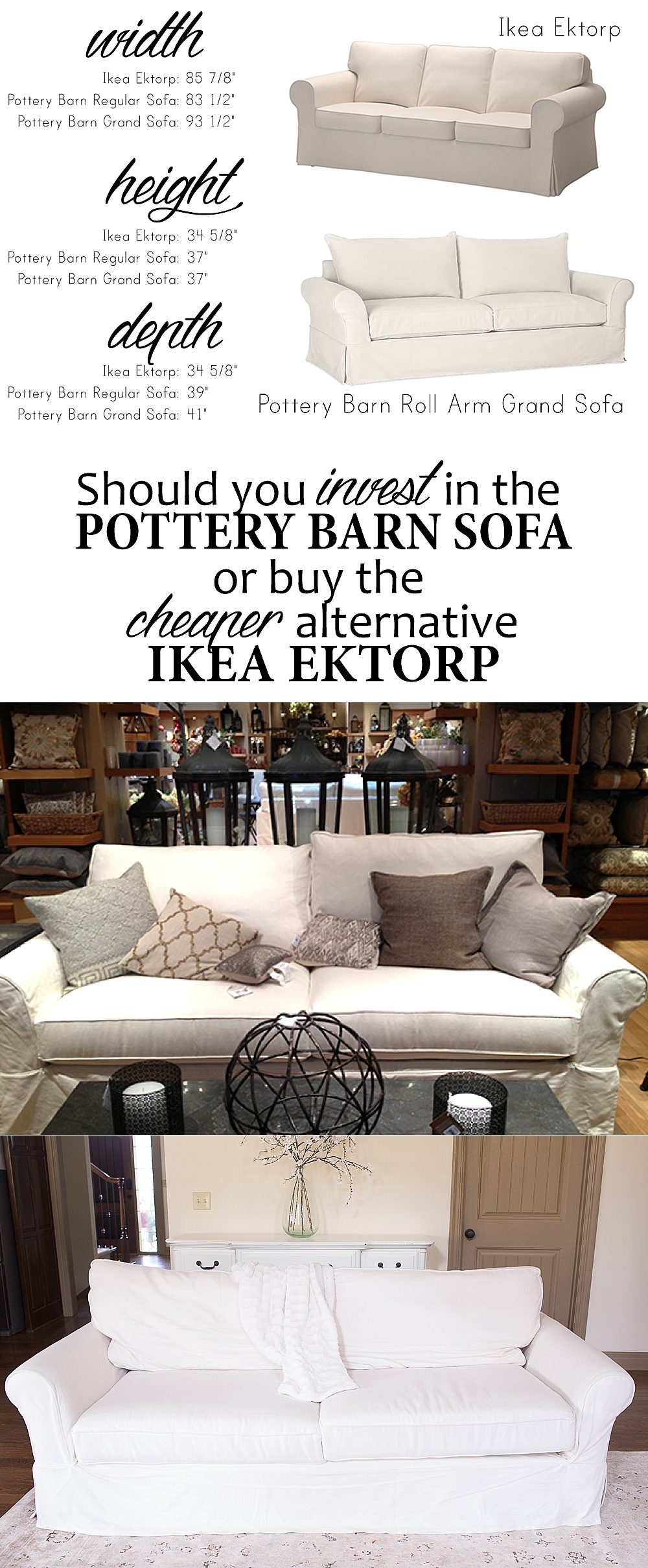 Dainty Ikea Versus Pottery Barn Sofa How To Choose A Couch Also Sofa Ikea Ektorp Versus Pottery Barn Sofa in Catch And Release Movie